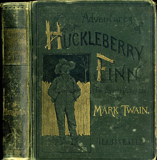 theparisreview:  Happy Birthday, Huck! Mark Twain's The Adventures of Huckleberry Finn was published on this day in 1884.