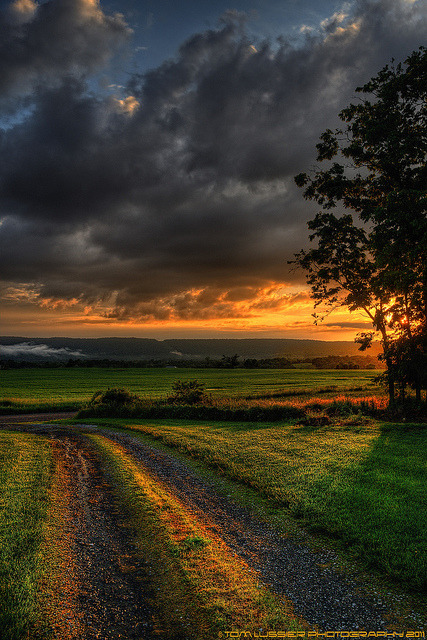 wistfullycountry:  After the Storm Sunset by Tom Lussier Photography on Flickr.