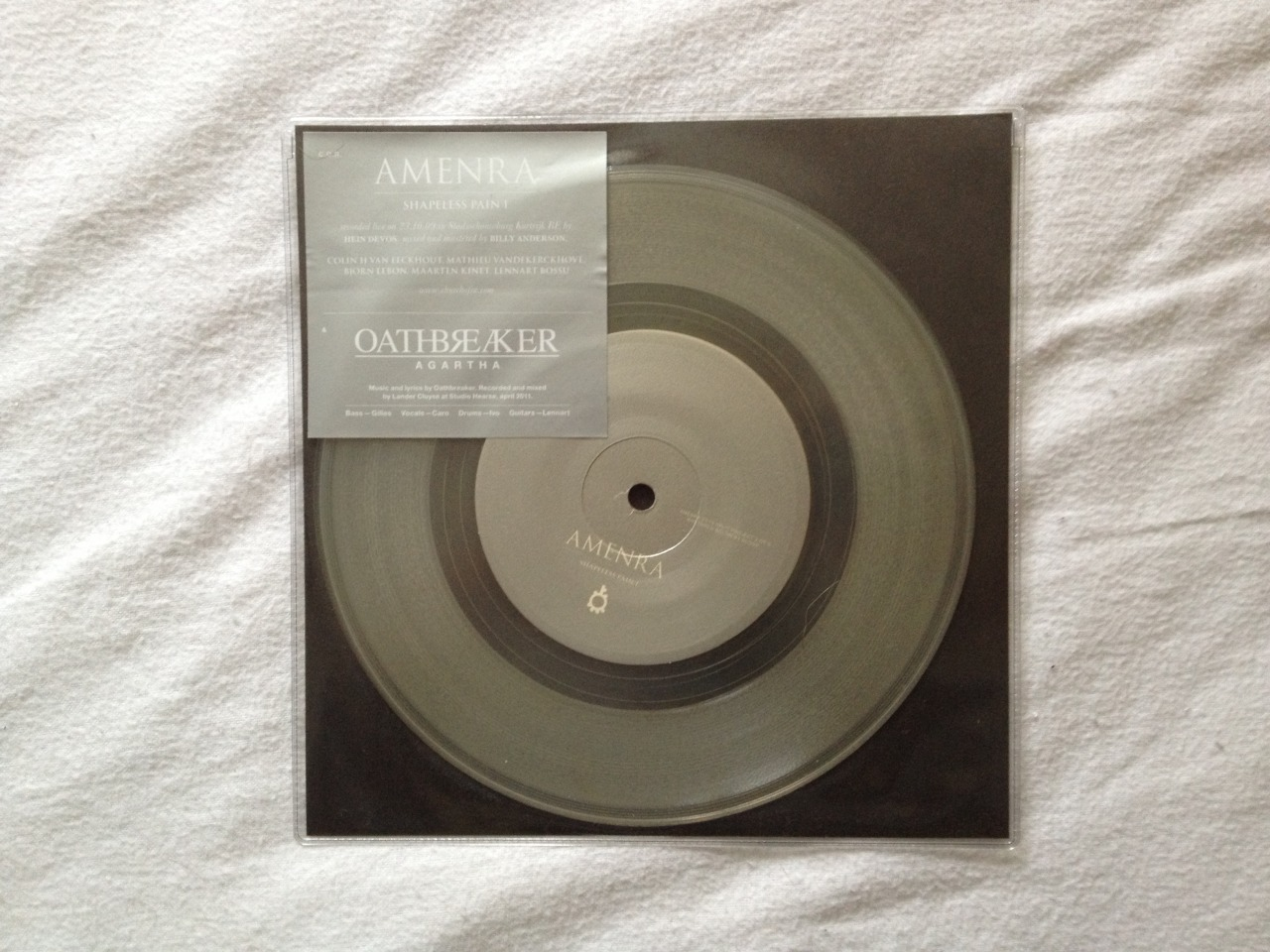fleshin2gear:  Amenra / Oathbreaker - Brethren Bound By Blood 3/3 (Clear 500)
