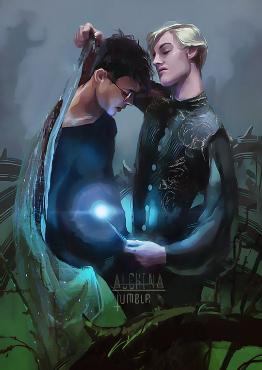 New Alekina Drarry Art!: snowgall — LiveJournal