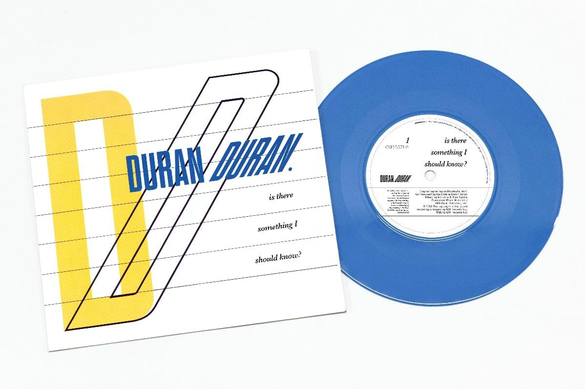 Duran Duran preps blue 'Is There Something I Should Know?' 7-inch for Record Store Day | DETAILS