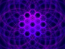 Here is something I found yesterday while exploring the Flower Of Life formation in it's different configurations, created some interesting Organic Technological Patterns. I feel that this kind of Flower Of Life interferences could represent a new way to tap into the energy of the consciousness all around us, the energies of the Heavens and the Earth .. but this is just a feeling for now. Maybe with magnetic motors that have their energy points configured at these points where the interference patterns appear.
