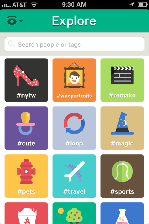"One particular feature in Vine that could open up to brands is the #hashtag themes section under the ""Explore"" navigation. I imagine there are plenty of products and brands that would line up to own one of these tiles for a day or a week. Vine should be thinking the same thing. Full article here."