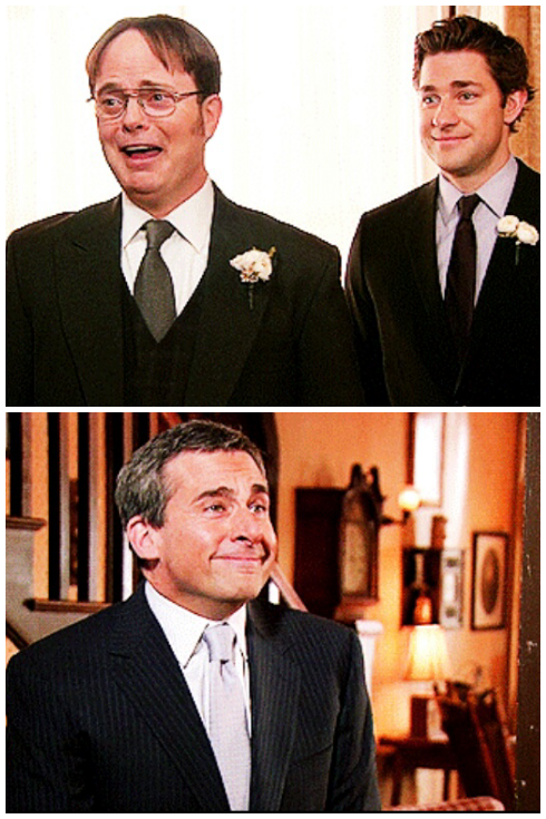 michael-scottpapercompany:  Easily the best moment in Dunder Mifflin history.