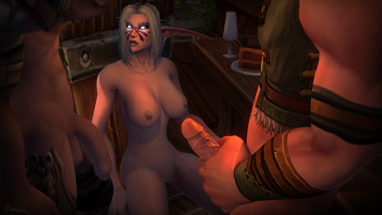 Hot and blood elf blowjob gif Marie