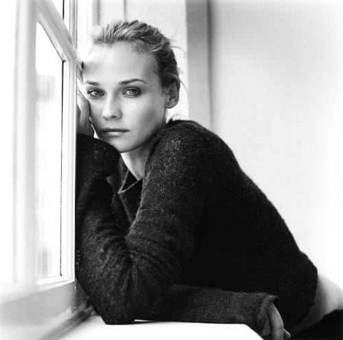 suicideblonde:  Diane Kruger photographed by Christian Kettiger
