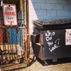 Who do you love? (at Somerville, MA)