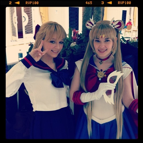 Cepia & I yesterday at Katsucon!