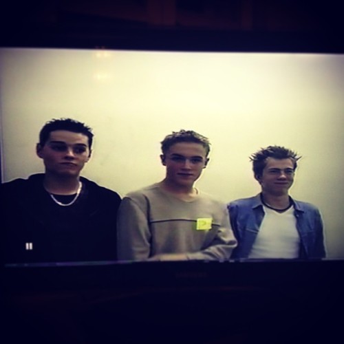 giovannafletcher1:  How cute?? @mattjwillis, @tommcfly, @jamesbourne 12 years ago… Xx