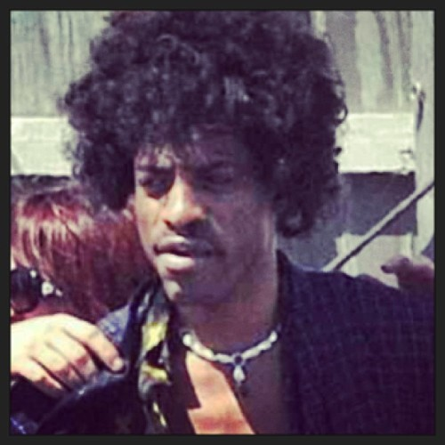 mickeyfactz:  Andre 3K as Jimi Hendrix in his Bio-Pic. Give him the Oscar now and save everybody else the trouble.