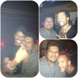 #blurry pictures w/ some #djs @ #apollonia vs #mobilee - #treehouse #KennyGlasgow @RayOkpara @DyedSoundorom #mmw #miami #wmc #wmc2013 #rayokpara #dyedsoundorom #artdepartment