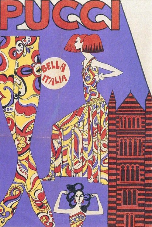 modrules:  Pucci advert in the 60's