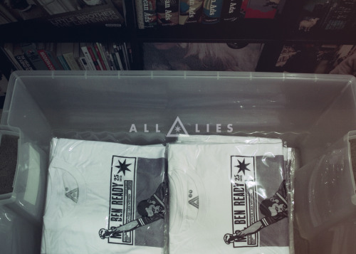 Got just a few of these HaLo x ALL LIES shirts remaining. Only 100 printed.  These are the last of them, so get em before they're all gone.Power Lies WIthinhttp://allxlies.bigcartel.com/product/all-lies-x-halo-68-ophr-tribute