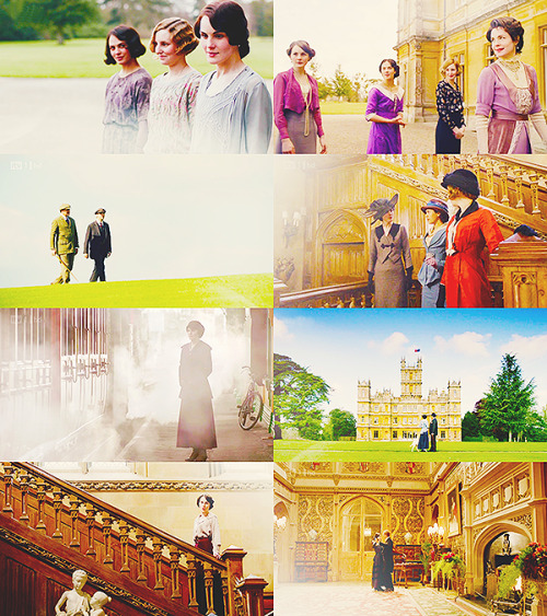 lagerthalothbrook:  Fangirl Challenge:9/10 TV Shows » Downton Abbey