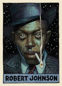 motherjones:  Lunch break: William Stout's 100 Cartoon Portraits of Legendary Blues Artists.
