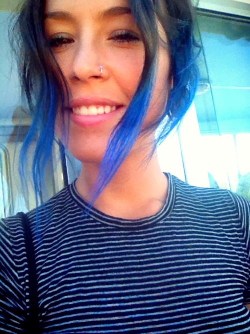 Blue hair don't care