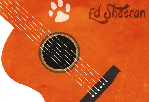 My Own Artwork, minimalist poster :)Ed Sheeran :D