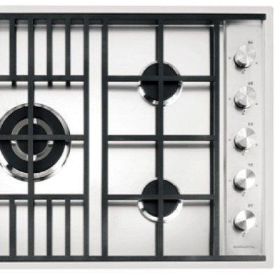 Thinking of updating the kitchen? Purchase any Barazza cooktop and receive a complimentary 32cm stainless steel wok, valued at $250.00. Barazza, made in italy for over 40 years and exclusive to Abey in Australia. Image: LAB 900 Cooktop.  *Conditions apply, see Abey's Facebook for more info. #cooking #kitchen #Barazza #Italy #cook #share #interior #renovate #design #AbeyAustralia #cooktop #functionality #innovation
