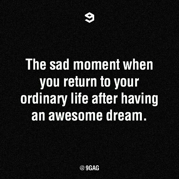 9gag:  The sad moment when… #9gag