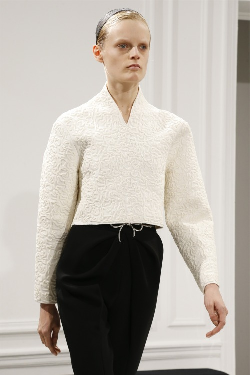 Hanne gabu odiele balenciaga fall.winter 2013-14