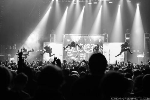THIS IS HOW WE DO IT. BETRAYING THE MARTYRS live at Brixton Academy - London UK. in front of 6.300 crazy people !!! Once again, a big thank you to our label mates in Asking Alexandria for inviting us on this EPIC tour ♥ \m/ picture by: Jordan Green Photo