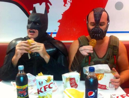 KFC brings enemies together