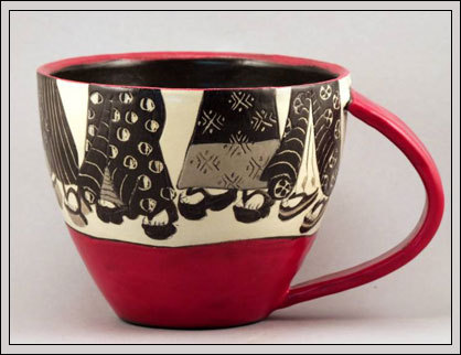 Geisha coffee cup