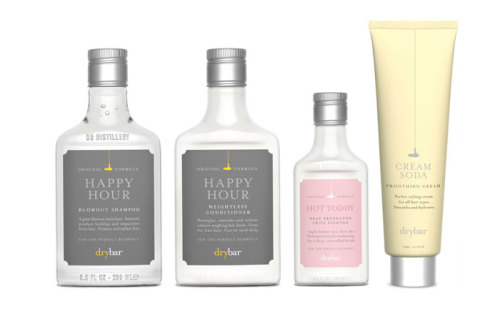 (via Drybar: Hair Products  - The Dieline -)