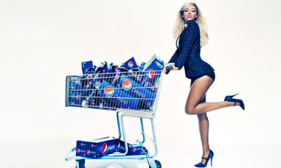 a preview of Beyonce's upcoming Pepsi ad campaign