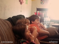 The kids watching Tom & JerryView more Tim McElwee on WhoSay