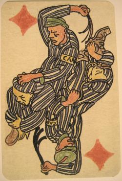 c86:Boris Kobe - Tarock game cards from Dachau concentration camp, c. 1945full deckhttp://www.chgs.umn.edu/museum/responses/kobe/