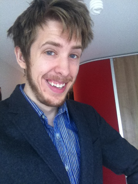 Rockin' my blazer for a video shoot at Google!