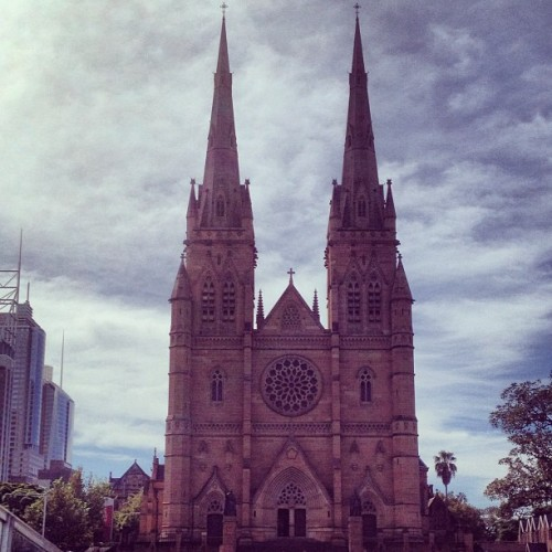 St Mary's Cathedral ⛪ #eastersaturday #church (at St Mary's Cathedral)