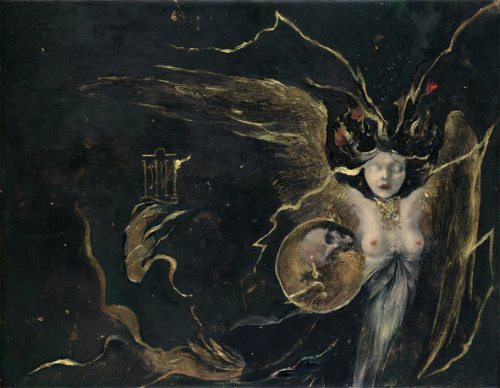denisforkas:  Denis Forkas Kostromitin - The Slant Serpent, the Tortuous Serpent. 2012-13