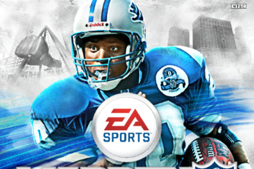 Barry Sanders wins vote for Madden cover 25th anniversary