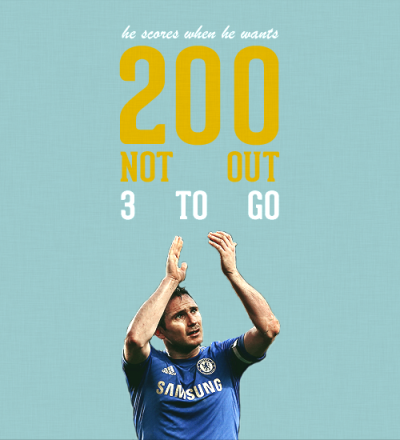 THE BIG COUNTDOWN ♔Tambling - 202 | Lampard - 200