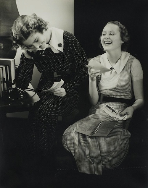 lauramcphee:  [Study for Kodak Advertisement], c1935 (Edward Steichen)