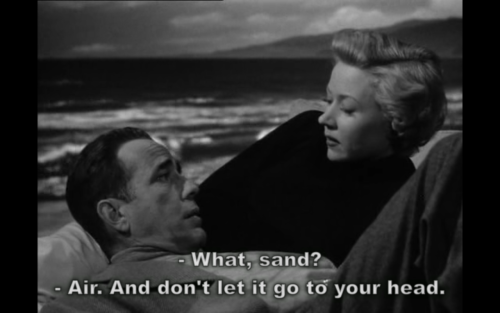 Humphrey Bogart and Gloria Grahame (In a Lonely Place, 1950)