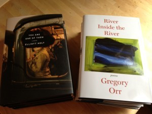 "A Rumpus Book Club Update Want to know what we're reading in May? The Poetry Book Club is reading Gregory Orr's latest collection, River Inside the River, which won't be available in stores until the first week of June. Plus, members get to chat with Orr online at the end of May. The Book Club is reading Elliott Holt's debut novel, You Are One of Them, which Karen Thompson Walker calls ""a surprising story of friendship and loss, but also a meditation on history and a reminder of how global events can reverberate through the smallest moments of ordinary lives."" We'll be chatting with Holt at the end of May as well. Can't decide which club to join? Why not join both? Great books and terrific conversation with both fellow book lovers and with authors. Where else can you find that combo? Only in the Rumpus Book Clubs."