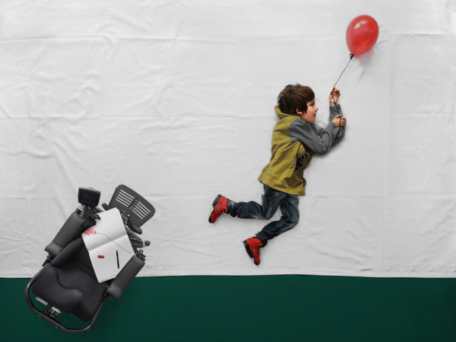 laughingsquid:  Le Petit Prince, Photo Series Imagines an Ordinary Life for a Boy with Muscular Dystrophy