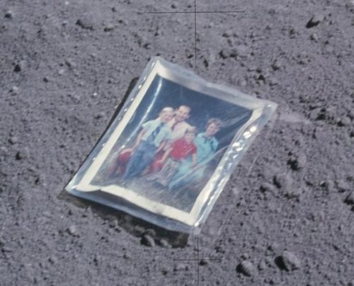The Family Photo That Was Left on the Moon in 1972