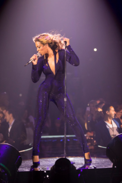 "did you ever watch beyonce at the superbowl?  after that i got a little bit obsessed and started thinking ""what would beyonce do?""  (WWBD)"