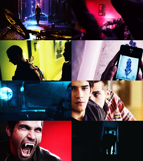 "tuperting:  teen wolf rewatch | 2x02, shape shifted  ""the full moon goes up and out come the fangs and the claws and there's a lot of howling and screaming and running everywhere, okay? it's very stressful on me!"""