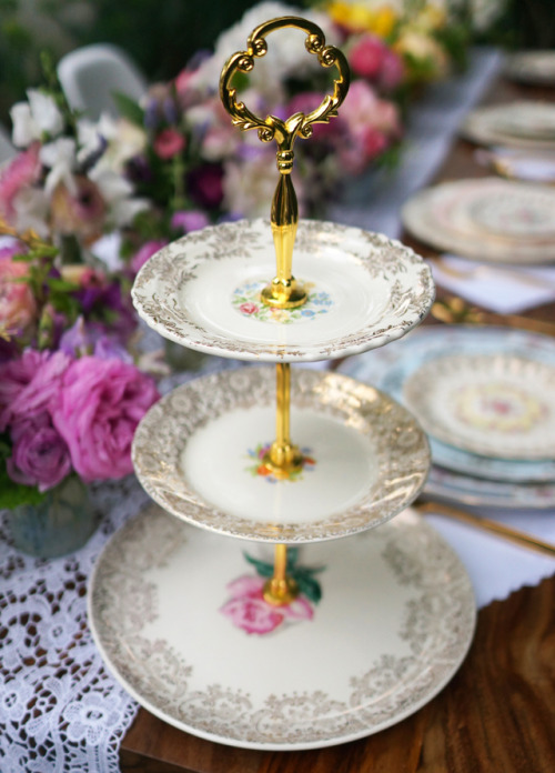 crankycrafter:  DIY China Plate Dessert Stand from Honestly…WTF for Martha Stewart. I love when the fashion blog Honestly…WTF goes Granny Style. They did it with their iconic Granny Couture Sunglasses here and have done it again with this beautiful dessert stand. Lots of drilling tips. Do you think that Grandma Martha Stewart knows that WTF does not stand for Where's the Fish?   truebluemeandyou: This could also be used as a jewelry display. The advice for drilling through plates is really good - especially using water to cool down the bit (I do this when drilling into plexiglass to prevent cracking). My mother loves anything MoMA, mid century or modern - she will not be getting this for Mother's Day.