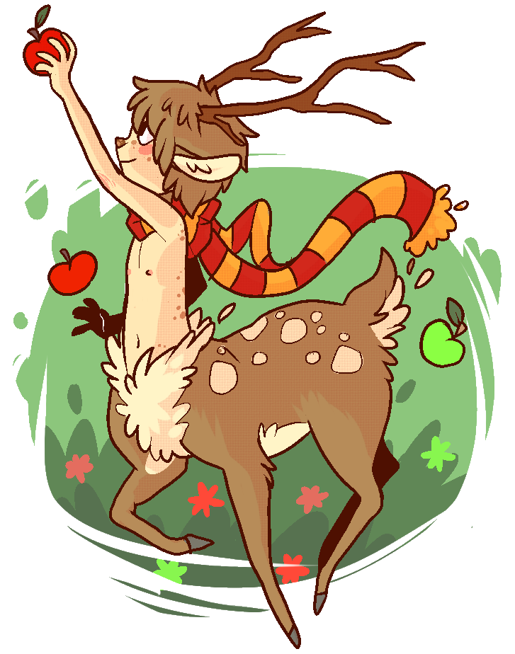 so uhh, i drew a deer boy.  yes