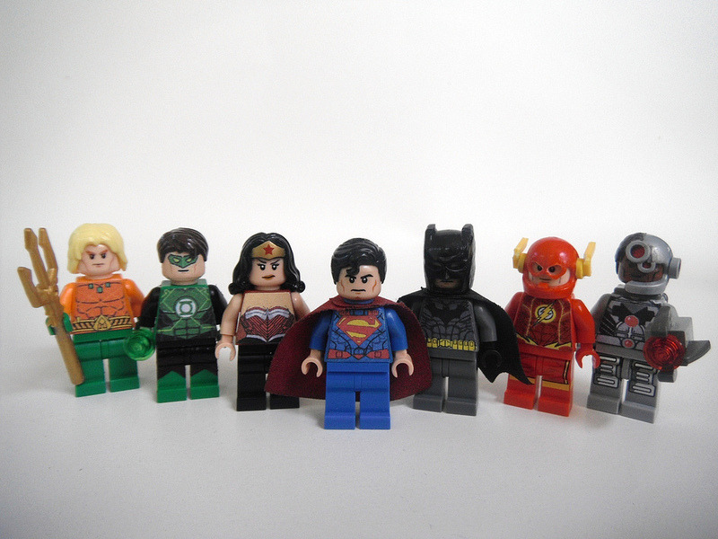 New 52 Justice League Superman Wonder Woman Batman Green Lantern The Flash Aquaman Cyborg