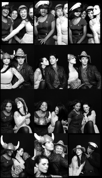 merlin cast wrap party..