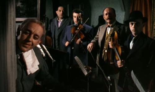 The Ladykillers (1955) - March 6  Professor Marcus: What's that? Who's talking? Mrs. Louisa Wilberforce: Well, it's only General Gordon. He belonged to my late husband. I had four. Professor Marcus: Husbands? Mrs. Louisa Wilberforce: No, parrots. And now I've only three. Professor Marcus: Parrots!