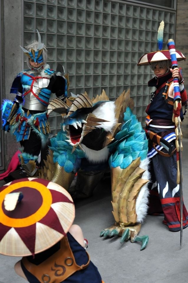 Awesome Monster Hunter Ultimate cosplay :D.
