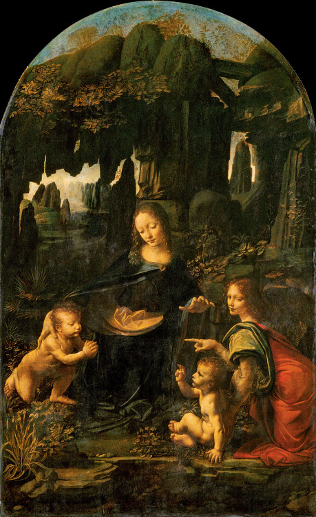 cavetocanvas:  Leonardo da Vinci, The Virgin of the Rocks, 1483-86